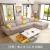 A home furnitureソファラテックスドッソファビズックグループ客間家具現代シンプルシリーズ浅いアンズ色3人掛位+中+zoyousoff fei位オプションDB 1545