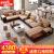 佐尔フィットフィットファ预约现代ドレスファァ·セトの大きさと部屋型リビ·リング·セトの家具豪华版セト1:5セストの絨毯+茶几