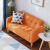 北欧風ドレプロソファの小戸タイプの2人が1.2メートルの小さなソファを掛けています。3人は1.5メートルの経済型ミニソファ寝室の賃貸住宅を掛けます。
