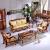 天然のおしゃれな藤の家具藤条真藤のソファーの籐椅子の籐のカジュアルな籐編みの客間の藤の芸の1人は掛けます2人は掛けます。