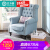 ビラインタイガー椅子アメリカナ布芸タイガーチェアビチューン復古高背もたれレジャー田園寝室書房1人掛け椅子標準モデル(純スポンジクッション)タイガーチェア