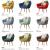 【2点8割引】北欧風の1人掛け椅子の怠け者椅子現代簡単ソファー個性レジャーバルコニーカフェ小ソファ逸品家具座布団ウォーカー(色備考)