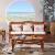 たくさんの青藤インドネシアの真藤のソファーの5つのセットリビングソファ藤木のソファーの組み合わせはクッションをプレゼントします。