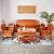 良い木の名作の赤い木の家具のミャンマーの花梨(学名:大きい果実の紫檀)の無垢な材のソファ全独坂の中国式の古典の客間のソファーの組合せの祥雲のソファーの8件のセット