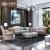 ディリーナのソファーは軽くて豪華な本革のソファーの組み合わせの頭の層の牛革アメリカ式客間家具のポストモンの無垢材ソファ3人が掛けられました。