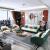 錦秀年華本革ソファー北欧風科学技術ドレスファの大きさの戸型Gifeの組み合わせが軽い贅沢な極簡素客間回転角ソファ2+3+1人掛け椅子の全皮モデルです。